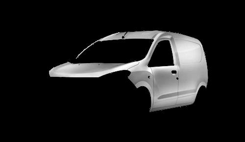 Цвета кузова Dokker Van